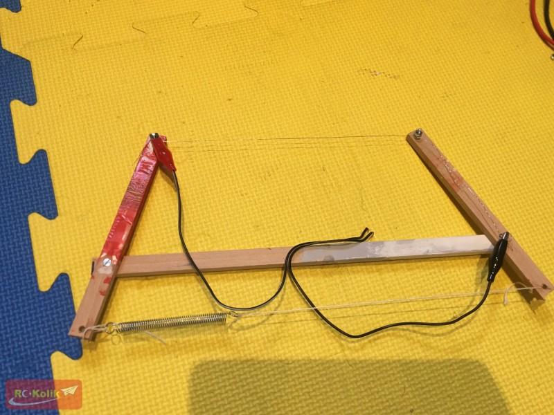 Köpük kesmek için sıcak tel kesim aletleri yapımı