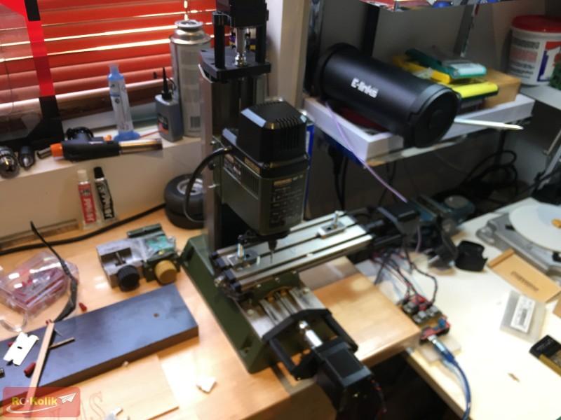 Proxxon MF 70 Mikro Freze CNC Dönüşümü