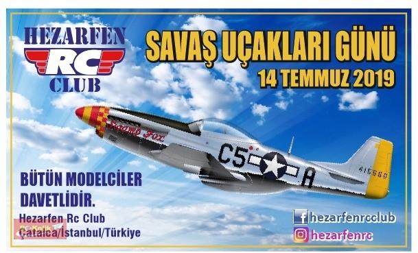 14 Temmuz Hezarfen RC Club Savaş Uçakları Günü