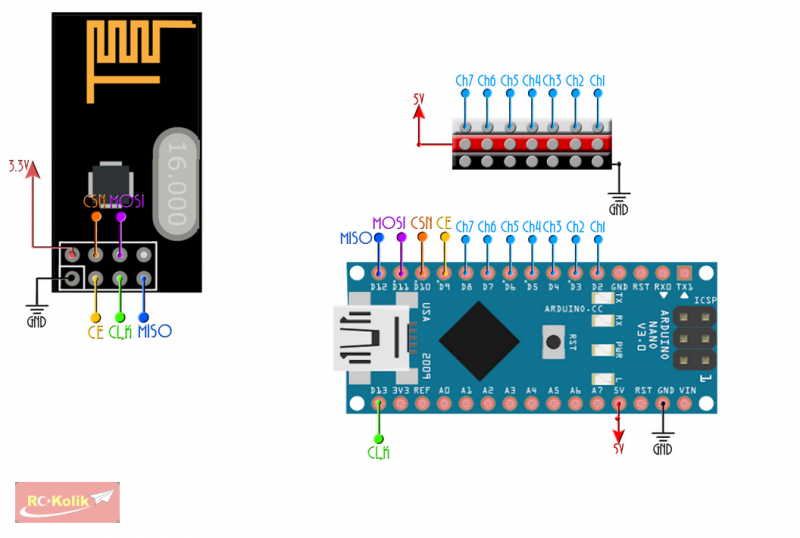 Bozuk Flysky FS-T6'a Arduino ile Verici ve Alıcı Yapımı