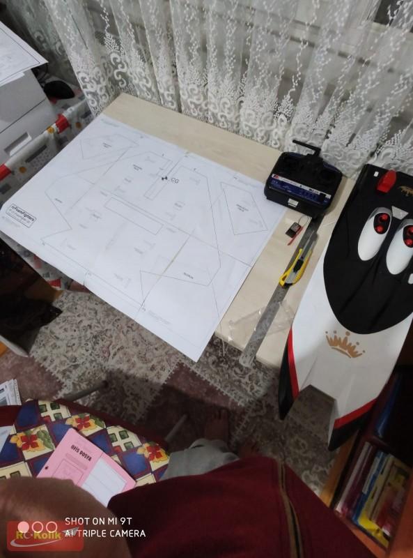 RC KOLİK'den aldığım projeyi hayata geçiriyorum F-22 RAPTOR