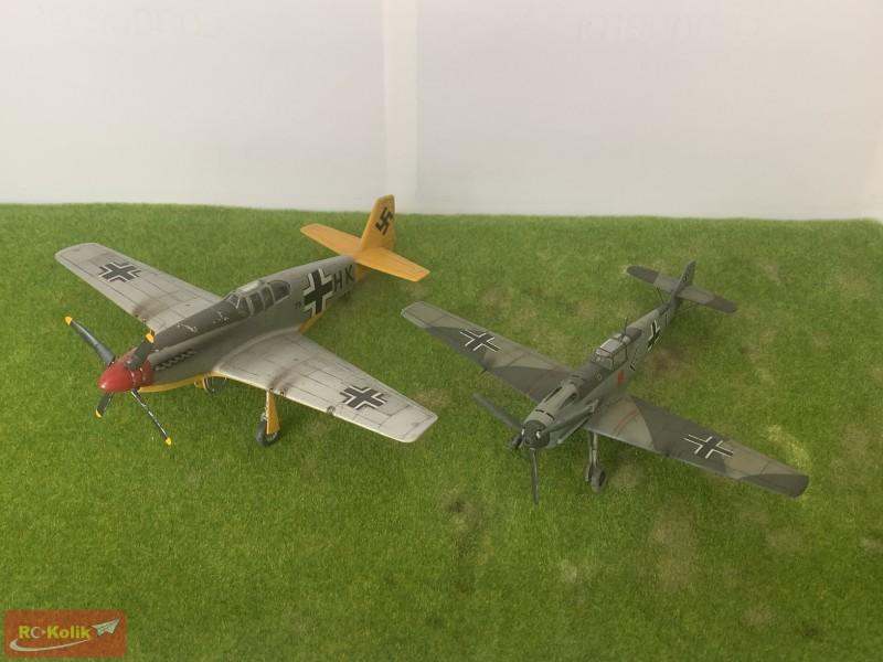 Messerschmitt Bf 109 E-3 Adolf Galland (1/72 ölçek, Tamiya)