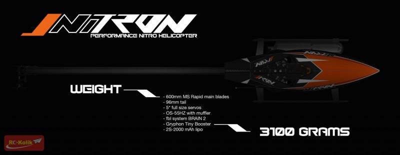 Tronhelicopters : Tron 5.5 Elektrikli ve NiTron Modelleri
