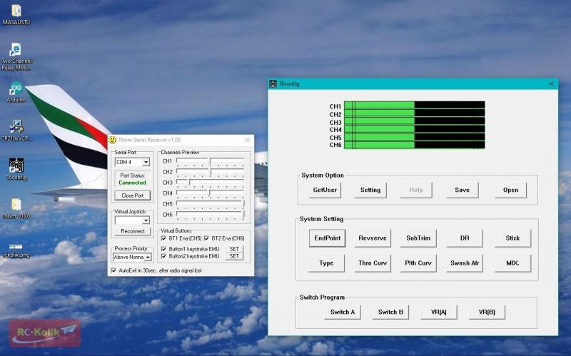 FS-CT6B Kumanda Simulator Tanıtma Sorunum