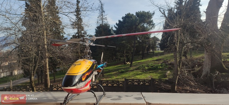 Flybarlı copter x 450 uçuşları