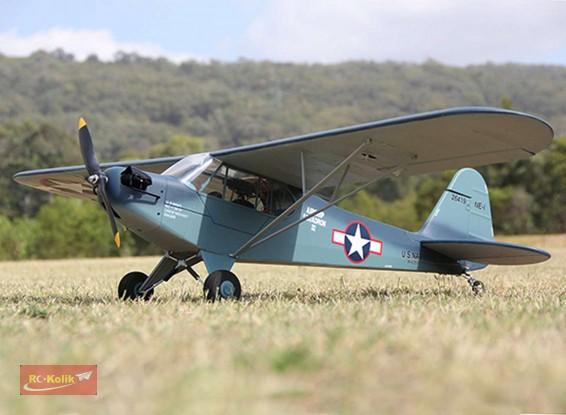 Hobbyking in J3 Navy Cub PNF modeli