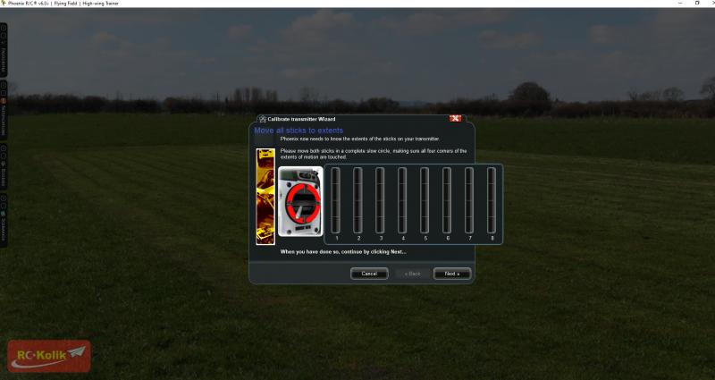 Phoenix Simulator Kumanda ayar sorunu