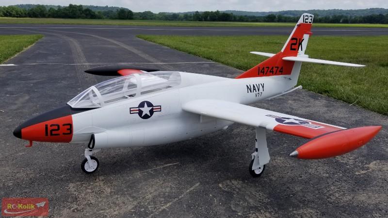 T-2 Buckeye - Jet Motorlu 3D baskı model yapımı